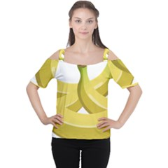 Banana Women s Cutout Shoulder Tee
