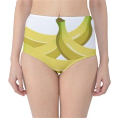 Banana High-Waist Bikini Bottoms
