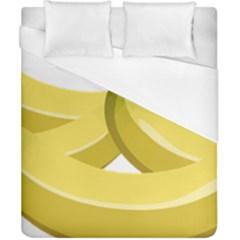 Banana Duvet Cover (California King Size)
