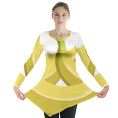 Banana Long Sleeve Tunic