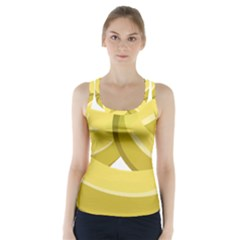Banana Racer Back Sports Top