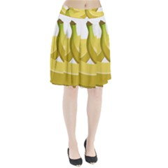 Banana Pleated Skirt