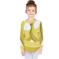 Banana Kids  Long Sleeve Tee