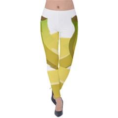 Banana Velvet Leggings