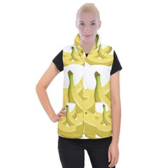 Banana Women s Button Up Puffer Vest