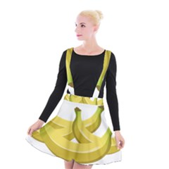 Banana Suspender Skater Skirt
