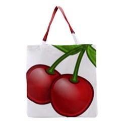 Cherries Grocery Tote Bag