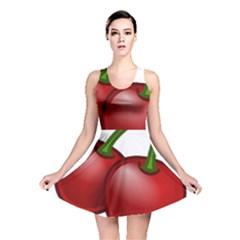 Cherries Reversible Skater Dress