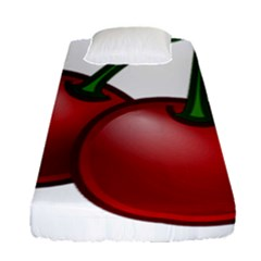 Cherries Fitted Sheet (Single Size)