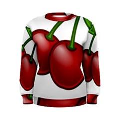 Cherries Women s Sweatshirt