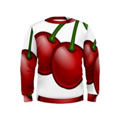 Cherries Kids  Sweatshirt