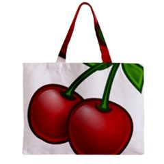 Cherries Zipper Mini Tote Bag