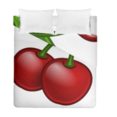 Cherries Duvet Cover Double Side (Full/ Double Size)