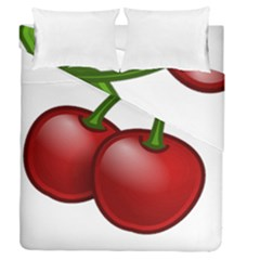 Cherries Duvet Cover Double Side (Queen Size)