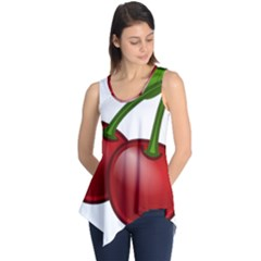 Cherries Sleeveless Tunic