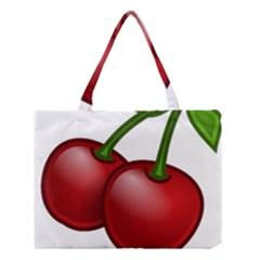 Cherries Medium Tote Bag