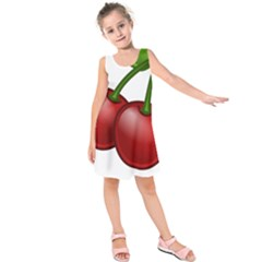 Cherries Kids  Sleeveless Dress