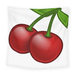 Cherries Square Tapestry (Large)