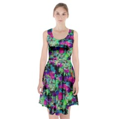 Blended texture                  Racerback Midi Dress