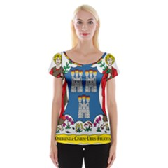 City of Dublin Coat of Arms Women s Cap Sleeve Top