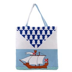Flag of Belfast Grocery Tote Bag