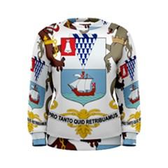 Coat of Arms of Belfast  Women s Sweatshirt