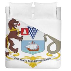 Coat of Arms of Belfast  Duvet Cover (Queen Size)