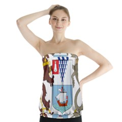 Coat of Arms of Belfast  Strapless Top