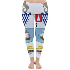 Coat of Arms of Belfast  Classic Winter Leggings