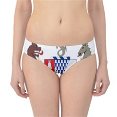 Coat of Arms of Belfast  Hipster Bikini Bottoms