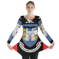 Flag of Drogheda  Long Sleeve Tunic