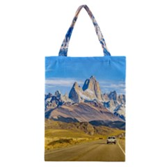 Snowy Andes Mountains, El Chalten, Argentina Classic Tote Bag