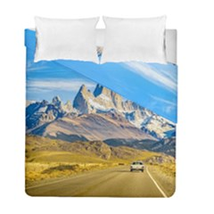Snowy Andes Mountains, El Chalten, Argentina Duvet Cover Double Side (Full/ Double Size)