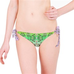 Summer Bloom In Festive Mood Bikini Bottom