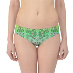 Summer Bloom In Festive Mood Hipster Bikini Bottoms
