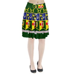 Flag of Ireland National Field Hockey Team Pleated Skirt