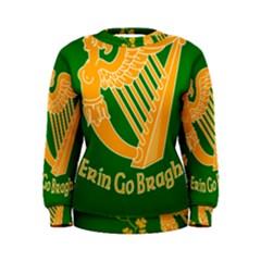 Erin Go Bragh Banner Women s Sweatshirt