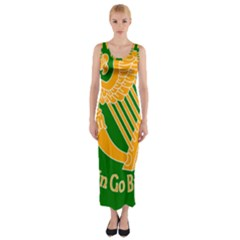 Erin Go Bragh Banner Fitted Maxi Dress