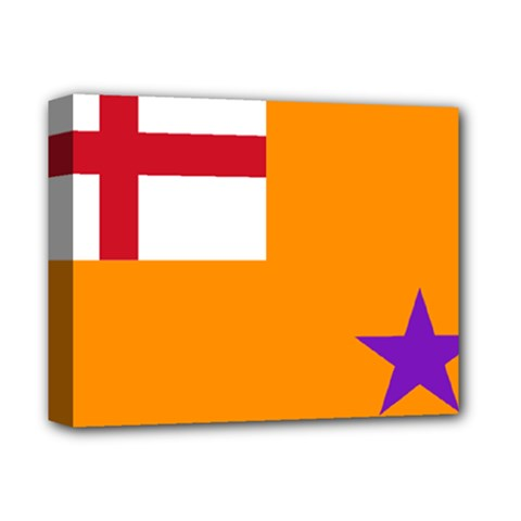 Flag of the Orange Order Deluxe Canvas 14  x 11