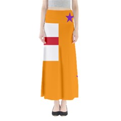 Flag of the Orange Order Maxi Skirts