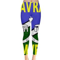Flag of the Irish Traveller Movement Leggings