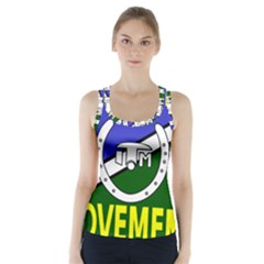 Flag of the Irish Traveller Movement Racer Back Sports Top