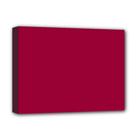 Flag of the Apprentice Boys of Derry Deluxe Canvas 16  x 12