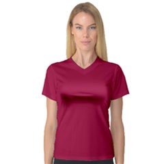Flag of the Apprentice Boys of Derry Women s V-Neck Sport Mesh Tee