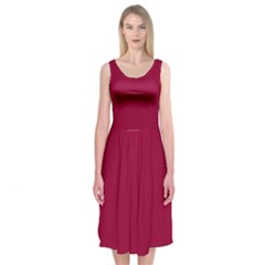 Flag of the Apprentice Boys of Derry Midi Sleeveless Dress