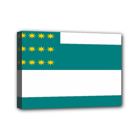 Flag of Fenian Brotherhood Mini Canvas 7  x 5