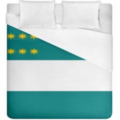 Flag Of Fenian Brotherhood Duvet Cover (king Size)