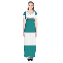 Flag of Fenian Brotherhood Short Sleeve Maxi Dress