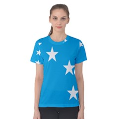 Starry Plough Flag Women s Cotton Tee