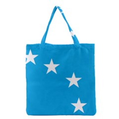 Starry Plough Flag Grocery Tote Bag